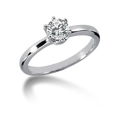 1 karat diamantring pris